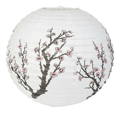 PL110: 16'' Chinese Japanese Paper Lantern Chinese Cherry Blossom Wedding Party