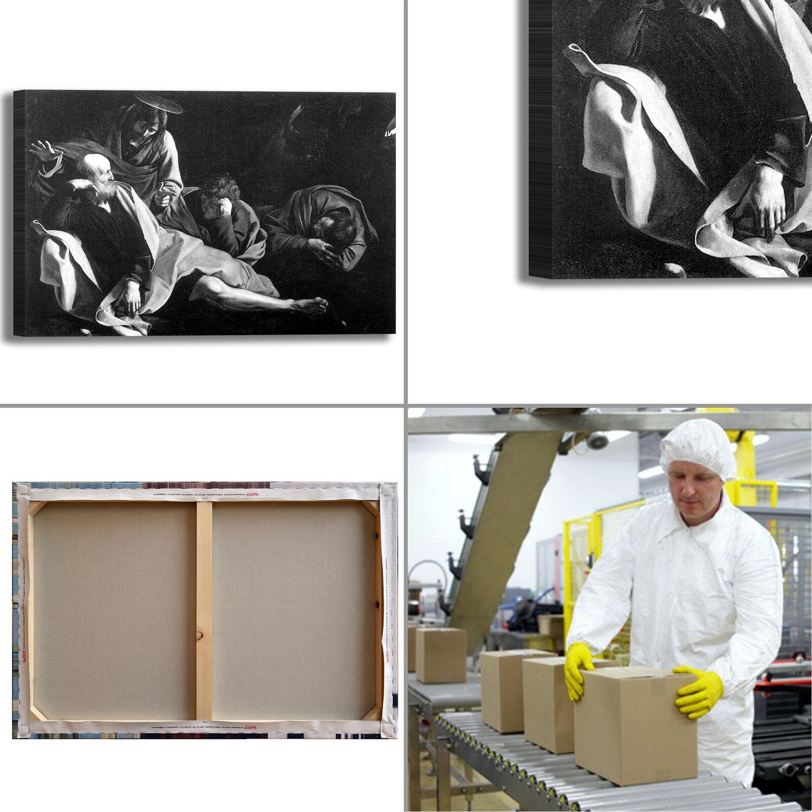Caravaggio Cristo Cristo Cristo monte ulivi quadro stampa tela dipinto telaio arroto casa a1db22