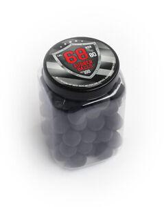 100-x-Hard-Rubber-Balls-Paintballs-Powerballs-Munition-68-Cal-HDS-amp-SG-T4E-RAM