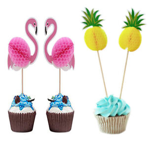 Hot-Pineapple-Topper-Party-Decor-Flamingo-Cupcake-Toppers-DIY-Cakes-Topper-Picks