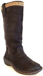UGG AUSTRALIA 5139 – Swell Tall Leather/Suede with ...