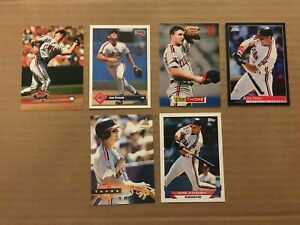 JIM-THOME-6-CARD-LOT-PINNACLE-2-STADIUM-CLUB-TOPPS-DONRUSS-CLEVELAND-INDIANS