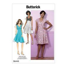 Butterick Sewing Pattern 6168 MISSES/'S Tunica /& Abito Semi Aderente