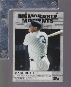 2017-Topps-Series-2-MEMORABLE-MOMENTS-Insert-SP-PICK-FROM-LIST-COMPLETE-YOUR-SET