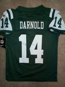 wholesale dealer 5ec5e 03c39 Details about *IRREGULAR* New York Jets SAM DARNOLD nfl NIKE Jersey Youth  Kids Boys (s-small)