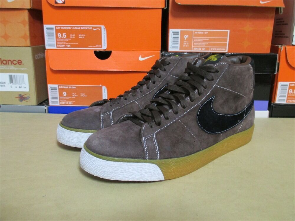 Nike SB Blazer Made In Cologne VERY RARE Baroque Brown 310801-202 US Size 10