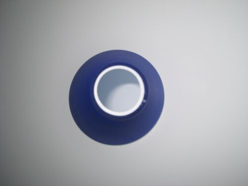 Ersatzglas Lampenschirm Lampenglas Leuchtenglas Tulpe Opalglas blau matt  G9