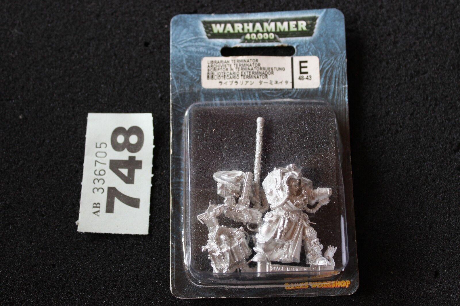 WARHAMMER 40k spazio Marine Terminator biblioteautoio  NUOVO CON SCATOLA NUOVO fuori catalogo IN METtuttiO Marine WH40K  il più economico