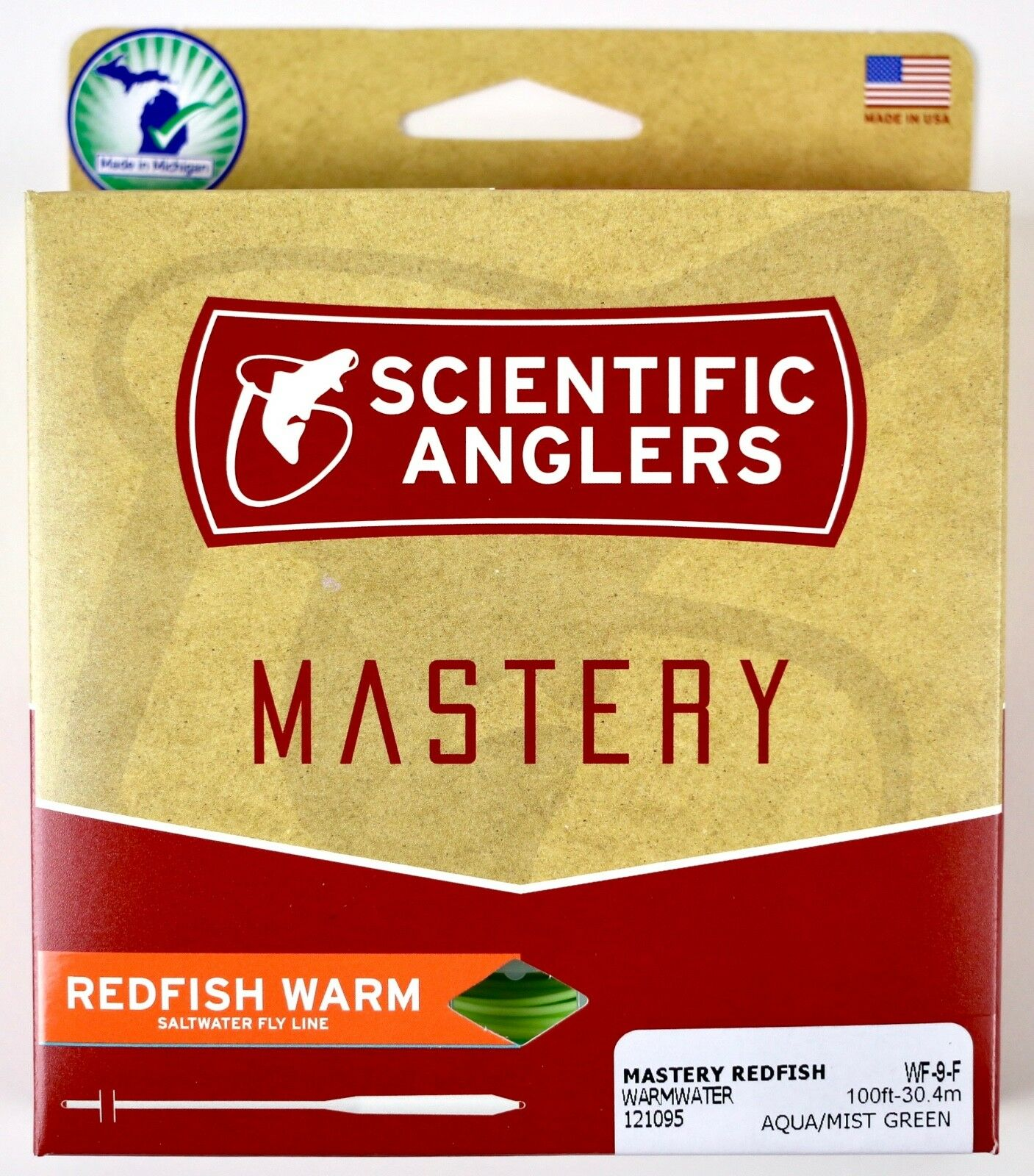 Scientific Anglers Mastery Redfish Warm Fly Line WF9F  Free Fast Ship 121095