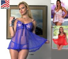 b675c2ad7da item 4 PLUS SIZE COBALT RED WHITE BABYDOLL G STRING LINGERIE SIZES S M L 1X  2X 3X 4X -PLUS SIZE COBALT RED WHITE BABYDOLL G STRING LINGERIE SIZES S M L  1X ...