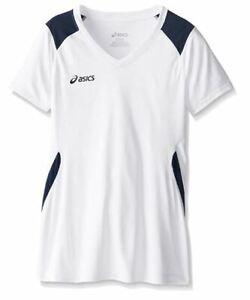 ASICS-Unisex-Child-Jr-Set-Jersey-White-Navy-X-Large