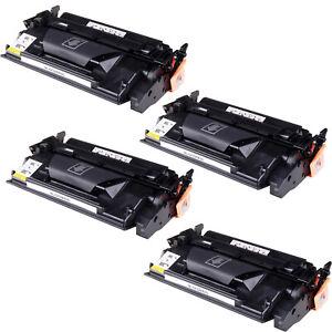 4-Black-CF226X-26X-High-Yield-Toner-Cartridge-fit-HP-LaserJet-Pro-M402-MFP-M426