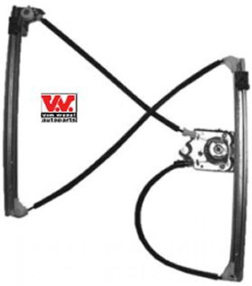 Fensterheber für Innenausstattung Vorderachse VAN WEZEL 4348266