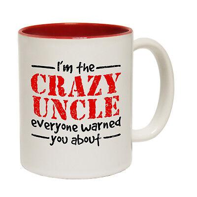 Fishing Mugs Drowning Worms Im The Crazy Uncle Family Giant Large NOVELTY Mug