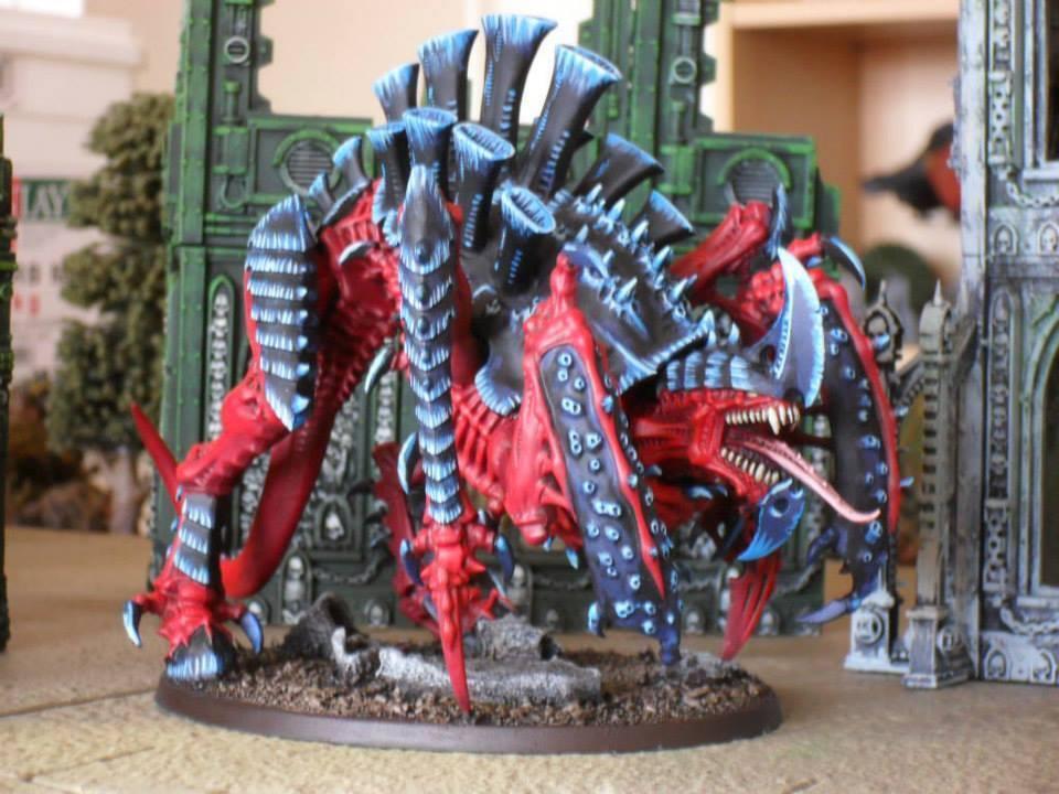 Warhammer 40,000 Tyranid Tyrannofex Pro Painted