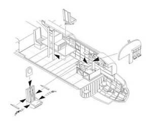 CMK-1-72-Avro-Lancaster-B-I-III-Interior-set-for-Airfix-7287