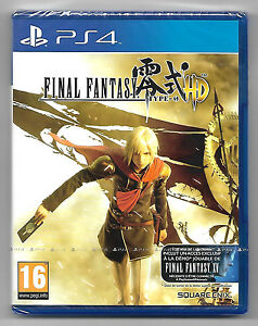 Final-Fantasy-type-0-HD-Neuf-sous-blister-jeu-Sony-Playstation-PS4