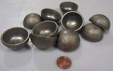 """Hot Rolled Steel Half Sphere / Balls 1.50"""" Diameter x .750"""" Height, 10 Pieces"""