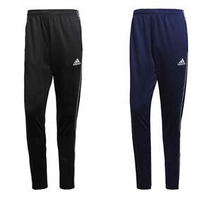 Comprensión muelle caravana  Mens Adidas Tracksuit Bottoms Trouser Pants Football Training Jogging Black  Navy | eBay