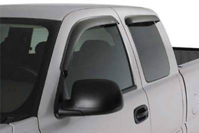 Wellvisors Rain Sun Wind Deflectors Crew Cab Chevy Colorado 15-20 Window Visors