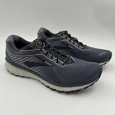 Brooks Ghost 12 Black Blue Men Running Training Shoes Sneakers 110316 1D