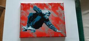 SKATER J ADAMS PAINTING by JB4 Original ART MODERN ACRYLIC Pop Contemporary