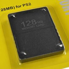 128MB Memory Card Data For Sony PlayStation 2 PS2 Slim Game Console 128M
