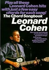 Leonard Cohen Chord Songbook Guitar Sheet Music Book Best Of Greatest Hits Learn