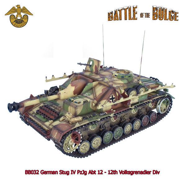 mejor precio BB032 alemán StuG IV pzjg ABT 12 12 12 - 12th Volksgrenadier Div por First Legion  contador genuino
