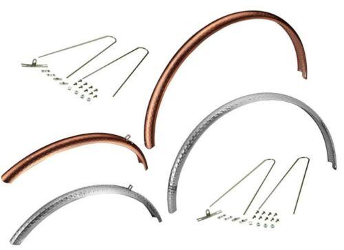 DIA COMPE ENE F-3 Road Bike Fenders Silver or Copper anodized 650X32C-38C Tire