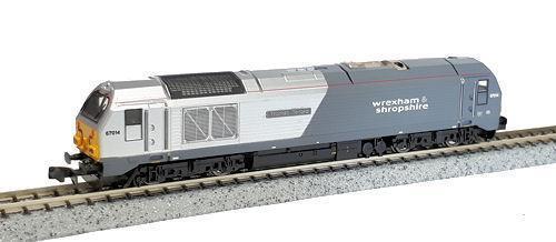 Dapol - 2D-010-004 - Class 67 67014 'Thomas Telford' Wrexham & Shropshire N SCAL