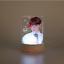miniature 13 - Color Changing KPOP BTS Bangtan Boys LED Plastic Acrylic Lightstick Night Light