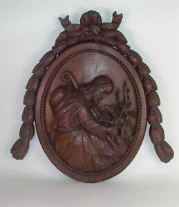 grosses-Relief-Holz-geschnitzt-Nr-1-68-x-67