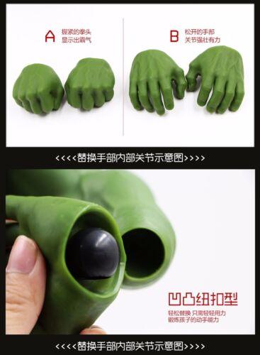 "16/"" Hot Avengers Incredible Hulk Iron Man Age Of Ultron Hulk buster 42CM PVC Toy"