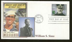 2010-Washington-Dc-Distinguished-Marins-William-S-Sims-Fleetwood-FDC