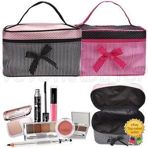 Da-Donna-Trousse-Viaggio-Accessorio-Toeletta-Borsa-Cosmetici-Make-Up-Custodia