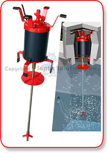 Ultra air septic tank shaft aerator comparable Septic motor