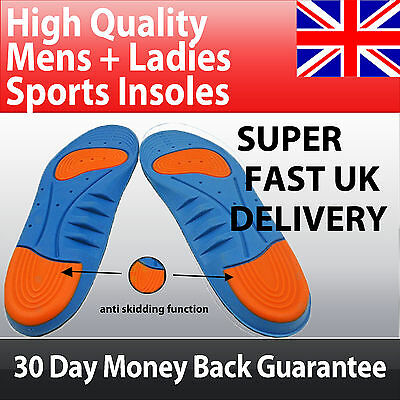Premium Orthotic Arch Support  Pad SPORTS INSOLES - Heel Pain & Foot Blisters