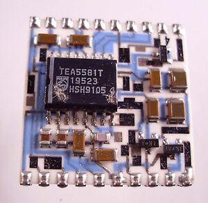 PLL-Stereo-Dekoder-Platine-Fabrikat-Philips-Komplett-bestueckt-in-SMD-Technik