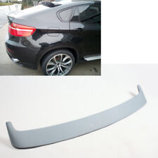 Unapinted For BMW  X6 E71 Hatchback Rear top Roof Spoiler 08 14