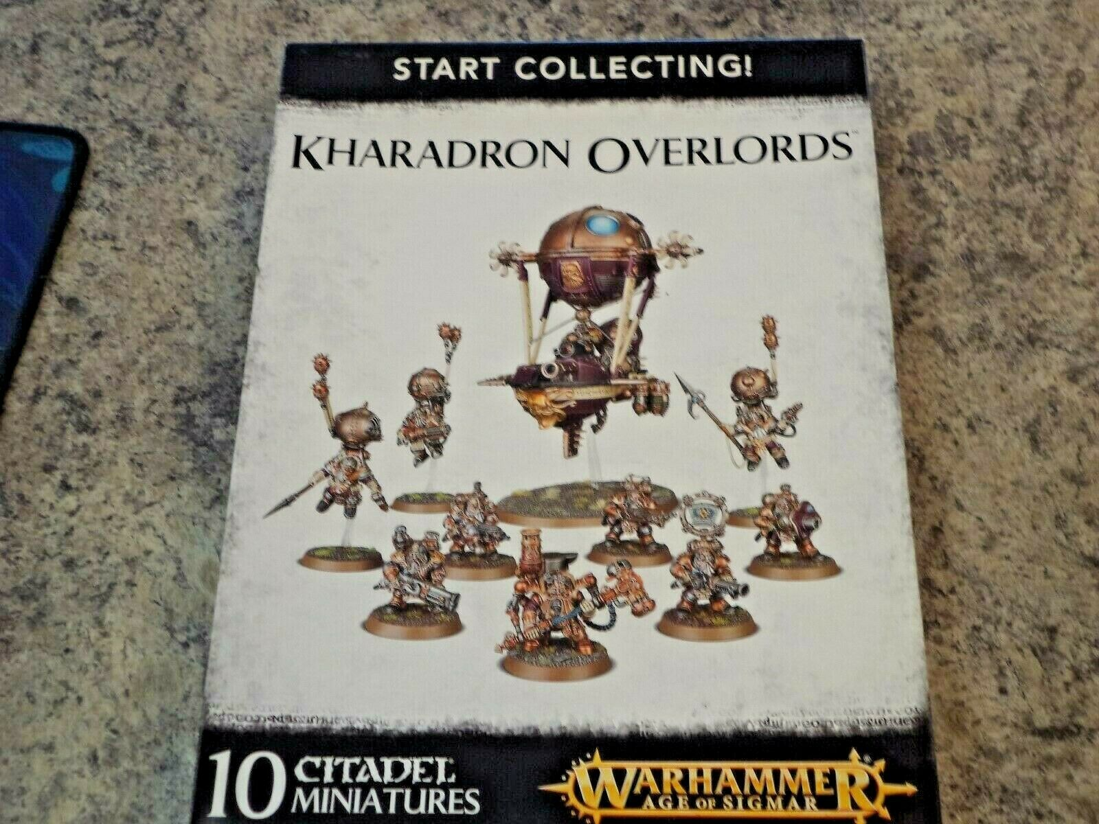 Start Collecting Kharadron Overlords Warhammer Age of Sigmar Fantasy Models New