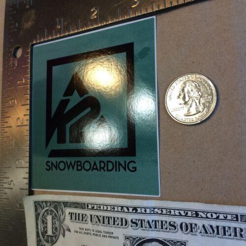 K2 Snowboarding Sticker Decal Free Shipping