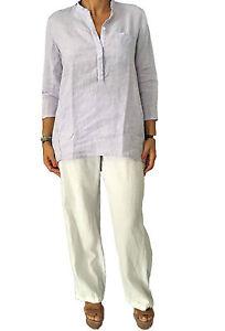 Guglielminotti 4 100 T By Femme shirt Manches 3 Buongiorno Glycines Lin Aldo zvwqE4WxqA
