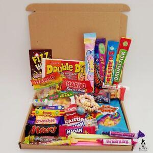 Image Is Loading LARGE Retro Sweet Hamper Selection Gift Box Present
