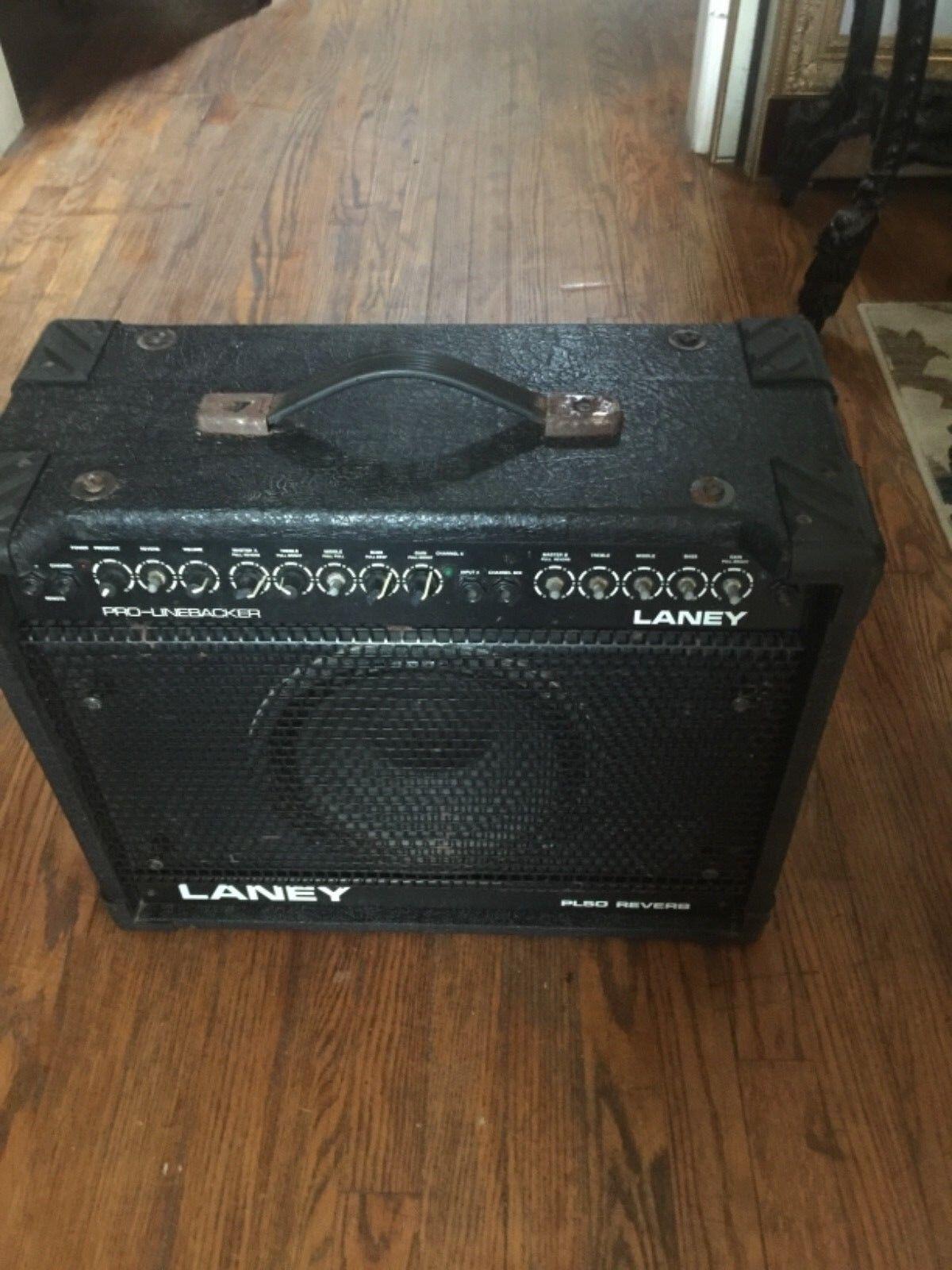 Laney Pro Linebacker  PL50 Reverb Guitar Amplifier