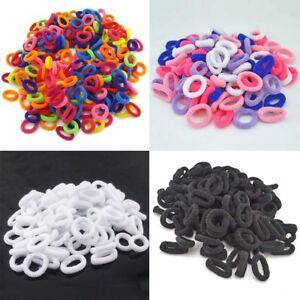 100Pcs-Girls-Baby-Kids-Hair-Band-Ties-Rope-Ring-Elastic-Hairband-Ponytail-Holder