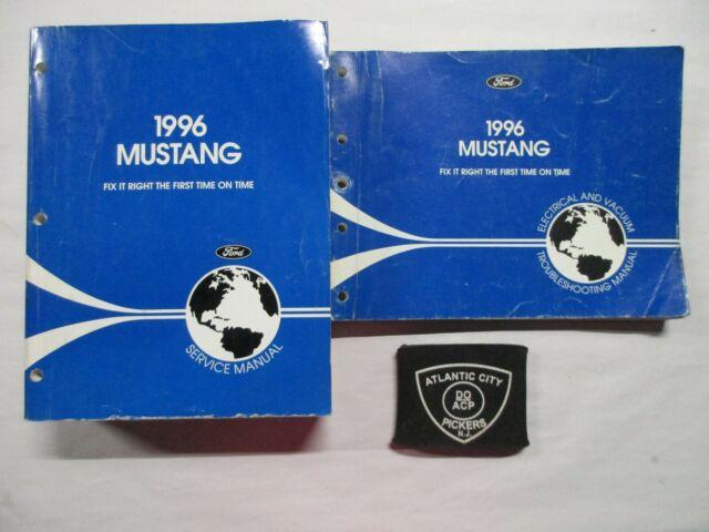 1996 Ford Mustang Service Shop Repair Manual  U0026 Electrical