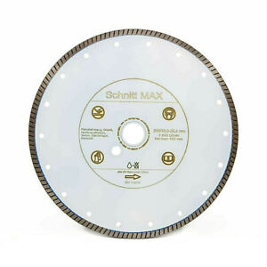 Fliesen Ø 230 x 25,4 mm Diamanttrennscheibe Trennscheibe Tiles Keramik
