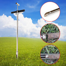 304 Stainless steel soil probe sampler with ejector eject bore foot pedal GOOD x
