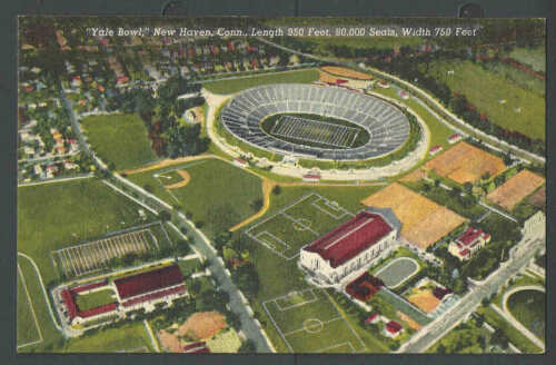 1955 PPC New Haven Ct Yale Bowl